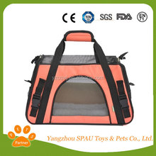 Lovely portable air condition pet carrier