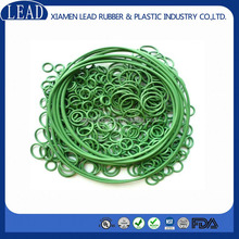 Hot- sale high quality green FKM rubber o ring