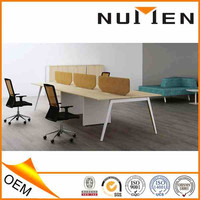 2015 New Design Aluminum Profiles Two Side Low Panel Office Partition