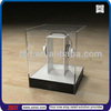 TSD-A134 custom retail store headphone clear acrylic display box/perspex display box/countertop acrylic display case