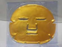 2014 hotselling gold crystal facial mask anti age and lightening