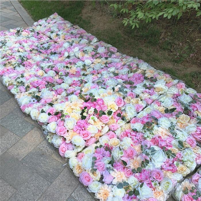 F-1376 индивидуальные Roll Up шампанское розовый эвкалипт цветок стены <span class=keywords><strong>розы</strong></span> стены