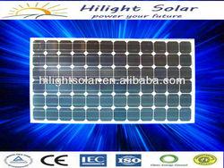 Lowest Mono solar panel india price 150w with TUV CEC CE