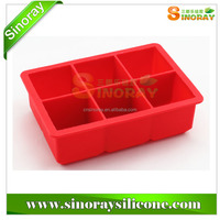 Customized ECO- friendy high quality food grade silicone ice cube tray