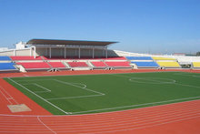rubber running track for stadium