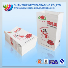 Eco friendly recycle thin paper bags packaging