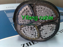 PVC insulated power cable with Aluminum conductor 4x120mm2
