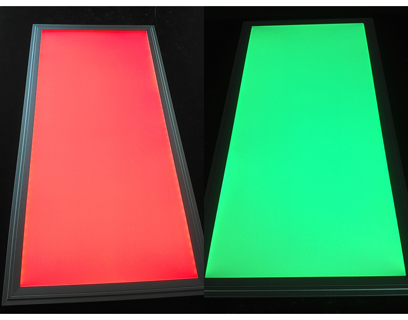 white frame 32watt 120x30cm rgb led panel light for hotel. Black Bedroom Furniture Sets. Home Design Ideas