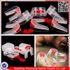 2015 new taekwondo mouth guard double gel mouth guard wholesale