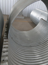 Flanged Nestable Pipe/corrugated Steel Pipe/flanged Culvert