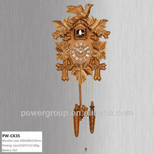 Cuckoo bird sound wall clock Flying bird at roof Nature clock with greek numerals Exquisite workmanship Best quality CK35
