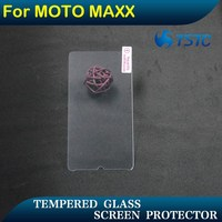 soft touch glass screen protector 9H 0.33mm 2.5D for motorola moto maxx