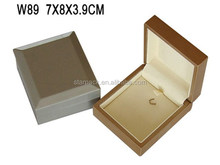 High Quality Customized Jewelry Packaging Wooden Pendant Box with Velvet lining W89