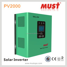 high quality PV or AC priority selectable 500VA 1200VA 2000VA inside PWM 30A pure sine wave solar inverter with stablizer