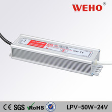 IP67 constant power supply 50W single output 24V waterproof 2.1a led driver