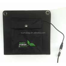 China manufacturer travel mobile 8w solar panel charger bag for outdoor