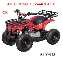 Plastic easy pull start electric atv 49CC 2 stoke air cooled