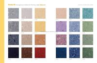 Magnetic modern luxurious vinyl floor planks/ plastic homogeneous flooring for hospital