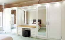 rococo wooden wardrobes bedroom sets of pictures