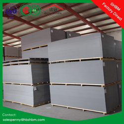 non asbestos high density fireproof outdoor 6mm cement fibre board exterior cement board price