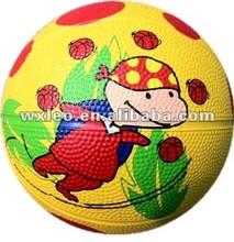 Top seller rubber basketballs