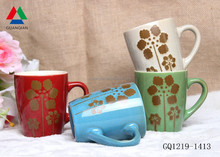 Factory direct ceramic coffee mug wholesale reactive mug for sale