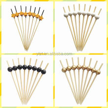 hot selling high temperature resistance bamboo sticks for party