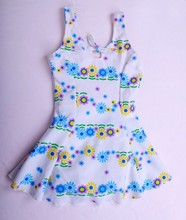 Manufacture Healthy Print Polyester Swimsuit For Kids