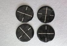 60mm diameter monocrystalline 6V round shape mini epoxy resin solar panel