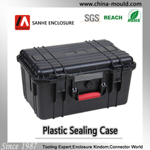 plastic equipment case with foam for tool 309x189x162mm
