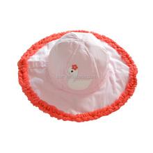 2015 Hot elegant pure light lace cotton children shading hat