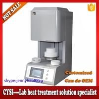 Dental lab 1700C dental zirconia sintering furnace/zirconia bridge sintering furnace