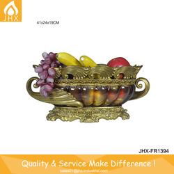 European High Quality Gold Antique Fruit Bowl