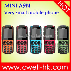 MINI A9N 1.44 inch screen very small low price china mobile phone with whatsapp