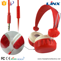LINX newest style fashion patented headphones with mic and detachable cable