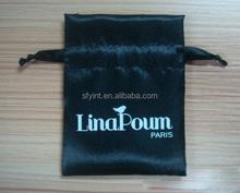 draw string gift satin bag