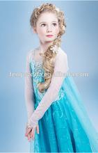 Frozen princess dress /frozen elsa costume girls dress/cosplay costume in frozen