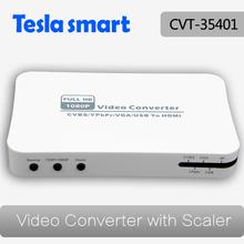 VGA RCA YPbPr USB to HDMI Converter with HDMI 720P 1080P Scaler