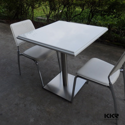 double personal restaurant chair table