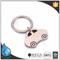 Factory customized custom made metal keychain with tyre