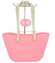 Wholesale O bag silicone handbag /beach bag