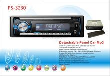 hot sale detachable panel car stereo am fm usb sd aux in