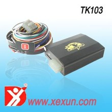 Gps tracker remotely shutdown vehicle Back up battery low power consumption high quality gps/gsm module