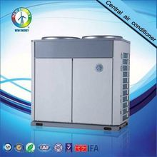 ce en14511 r4107c 380v cold area air chiller-industrial screw type china supplier