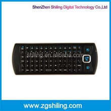Remoting Control light 2.4G Wireless Keyboard With Infrared In Black