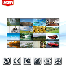 47inch China KTV background 4.9mm bezel video wall splicing wall 3 x 3