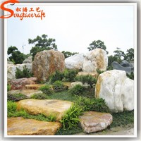 Professional high quality water fountains wholesale big water fountains slate rock landscaping stone