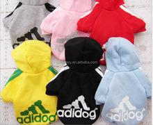 Best seller dog dress patterns designer dog clothes dog clothes adidas QPA-5029