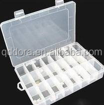 Stock available wholesale plastic fly fishing box fishing hook box 398