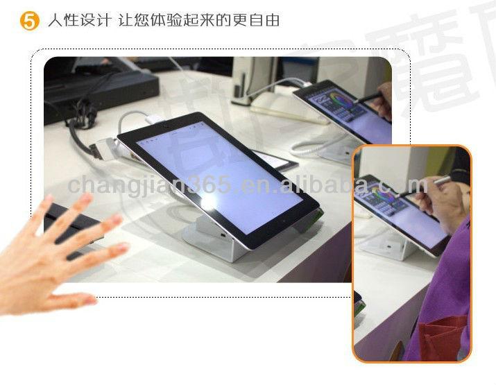 анти- кражи держатель для ipad pc магазин дисплей безопасный
